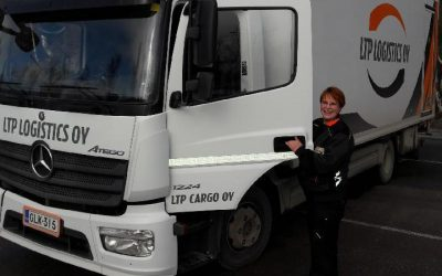 Millaista on työskennellä LTP Cargon autonkuljettajana Tampereella?
